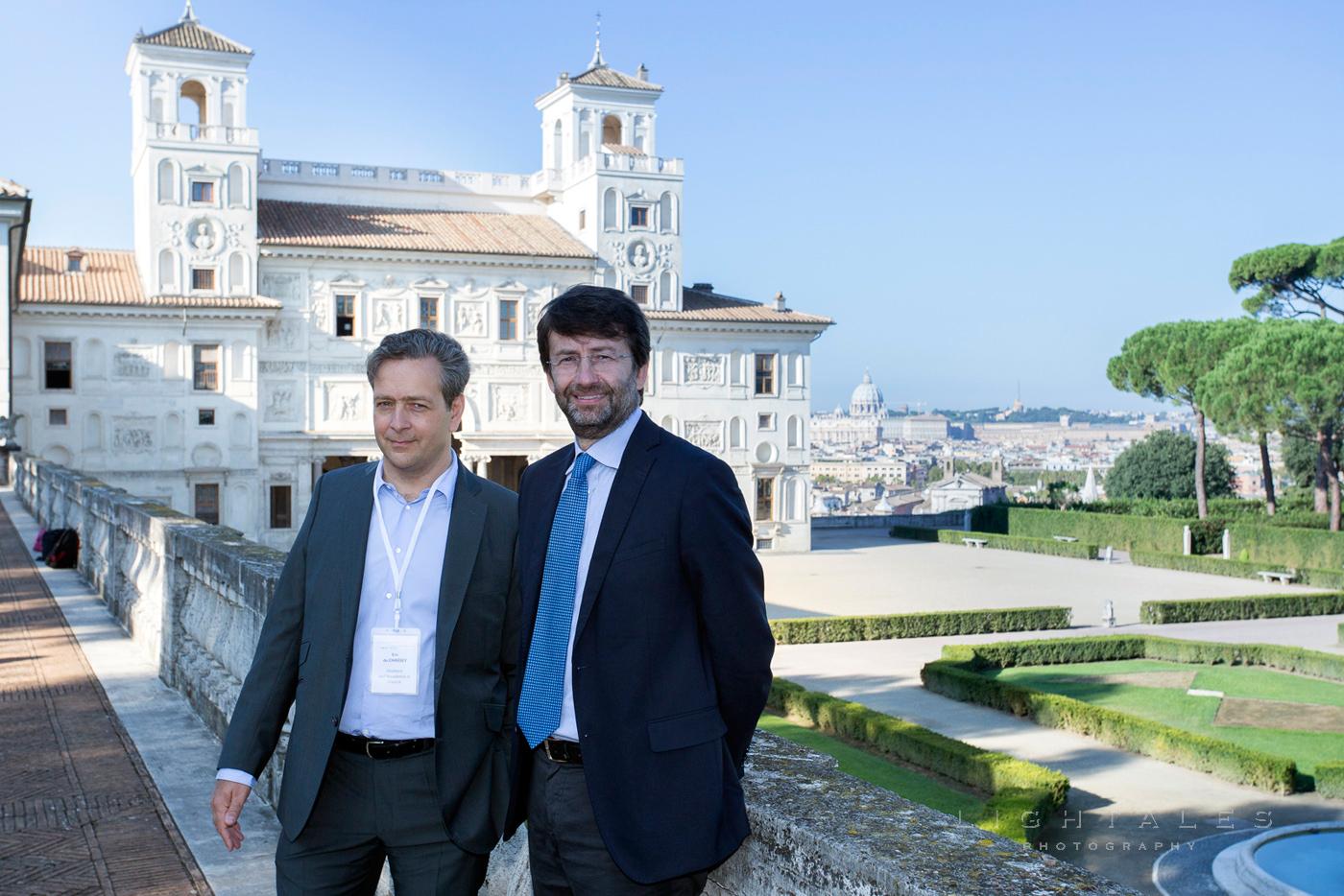 politica-ministro-beni-culturali-dario-franceschini-villa-medici-roma